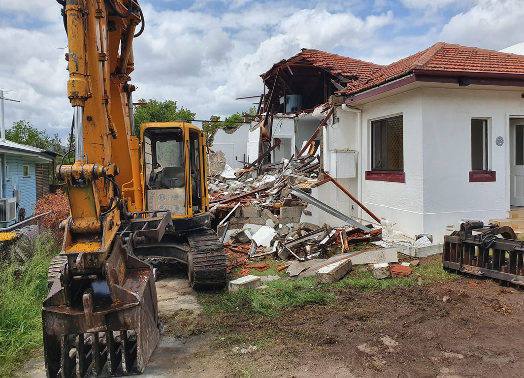 Demolition of residential house