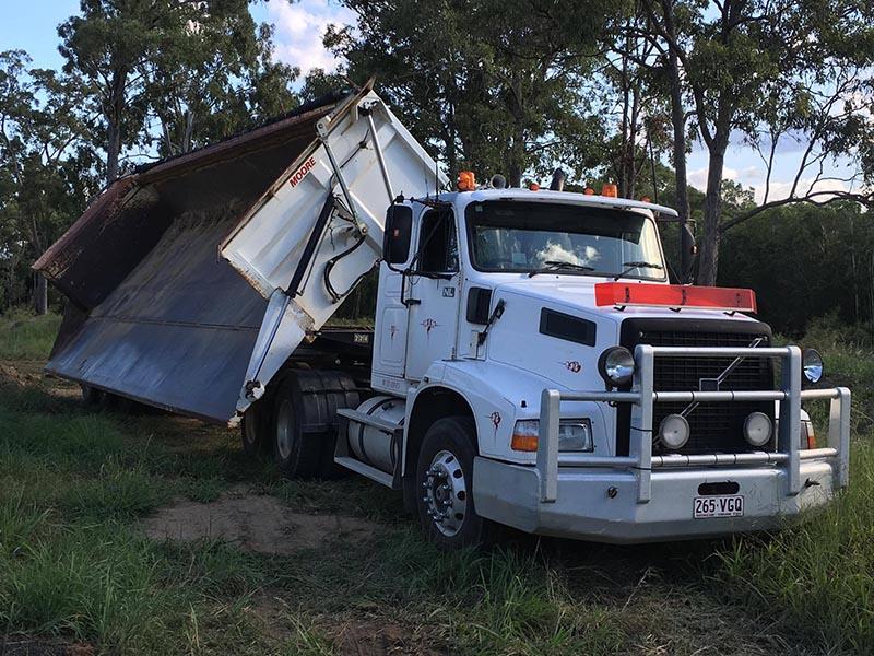 Side Tipper Truck hire