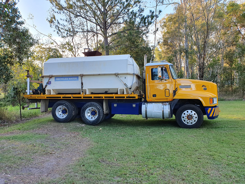 Water truck hire
