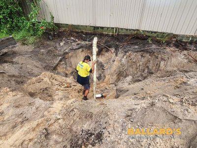 Sewer Location House Demolition Bribie Island
