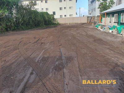 Cleared Site After House Demolition Bribie Island