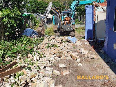 Block Wall Demolition Bribie Island