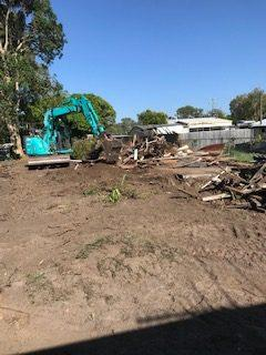 site cleanup and demolition Donnybrook