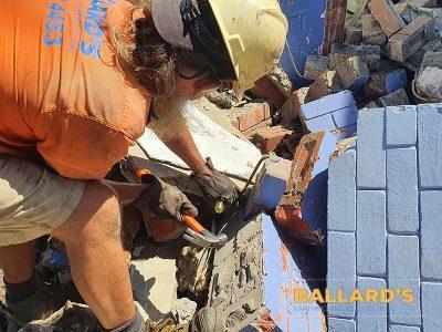 Block Wall House Demolition Bribie Island