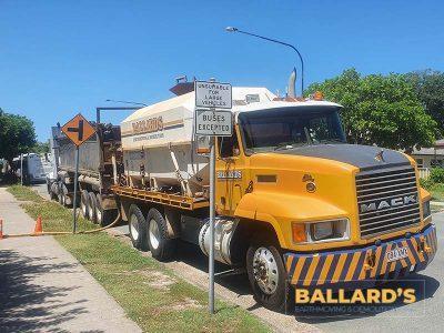 Dust Control Water Truck House Demolition Bribie Island