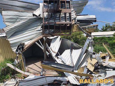 Banyo house demolition