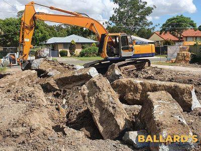 Banyo house demolition asbestos removal
