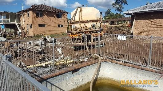 demolition of swimming pool brisbane