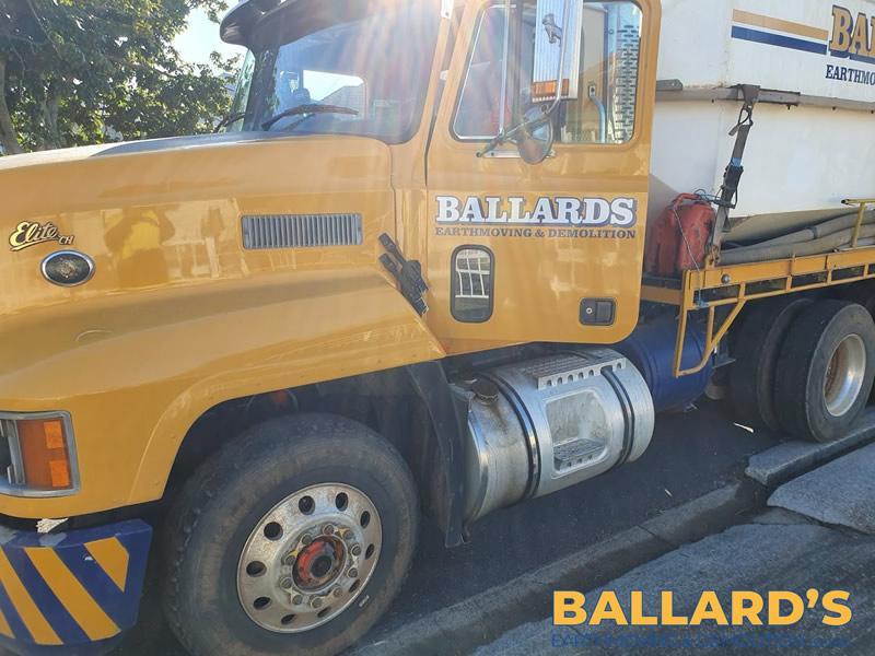 Ballards Water Truck Dust Control Brisbane