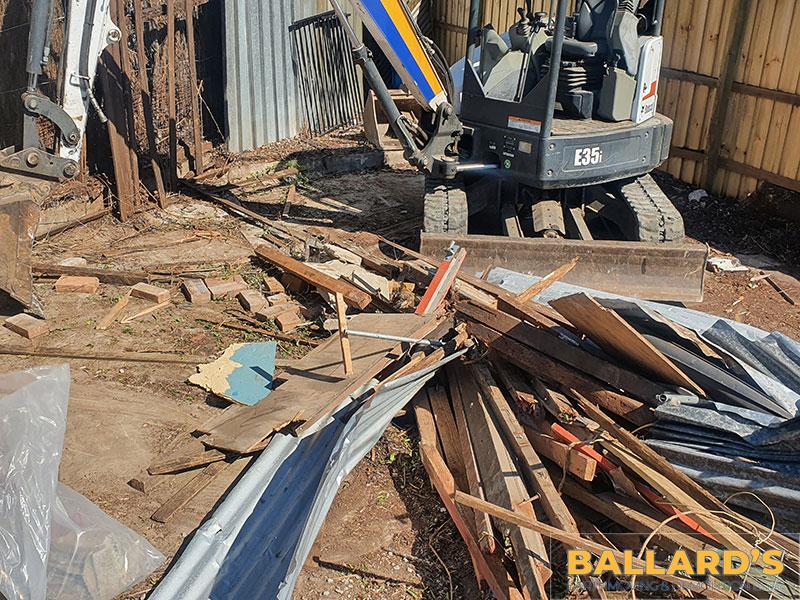 Bracken Ridge Shed Demolition