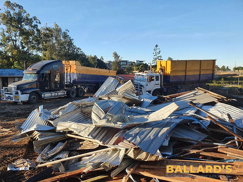 demolition rubbish removal brisbane