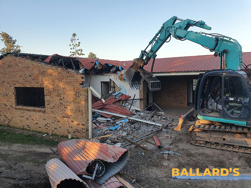 building demolition brisbane