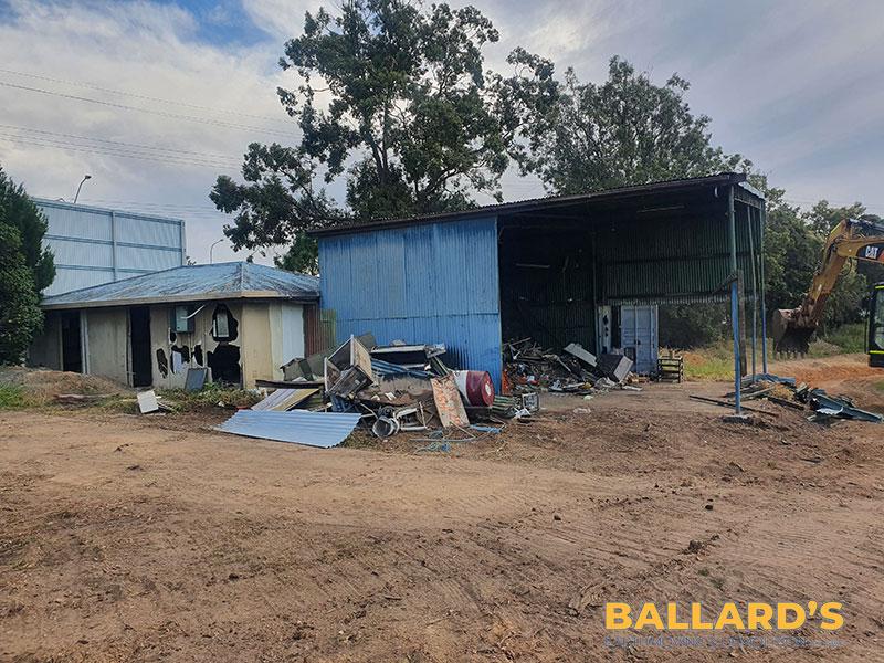 shed demolition brisbane