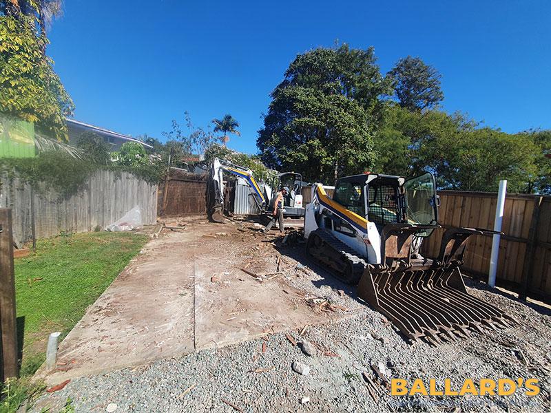 Demolition Of Shed Concrete Slab