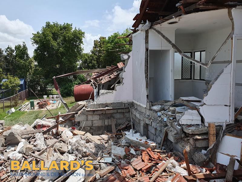House Demolition  north brisbane