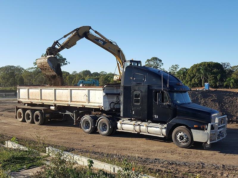 Semi Side Tipper Truck Hire