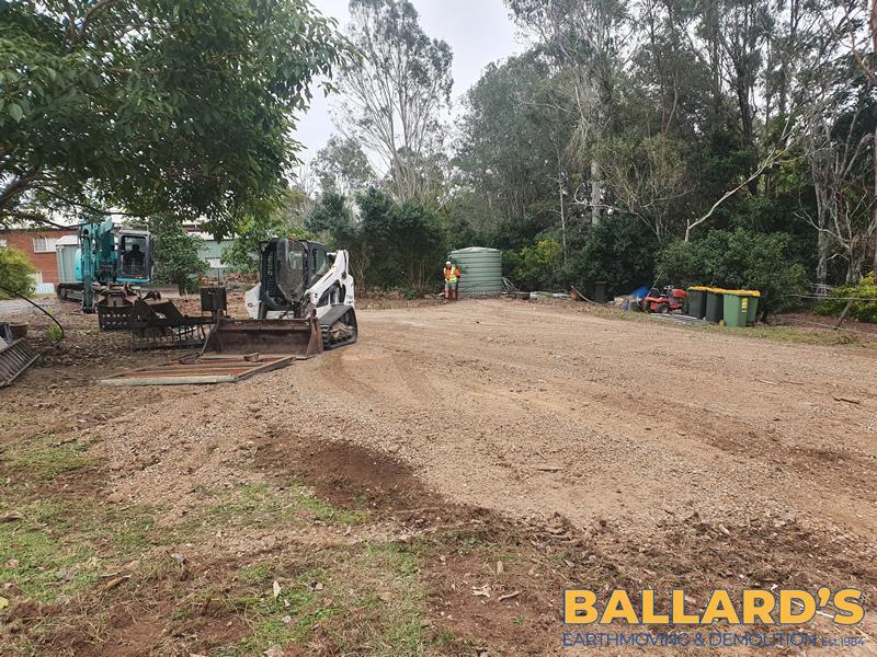 site demolition north Brisbane