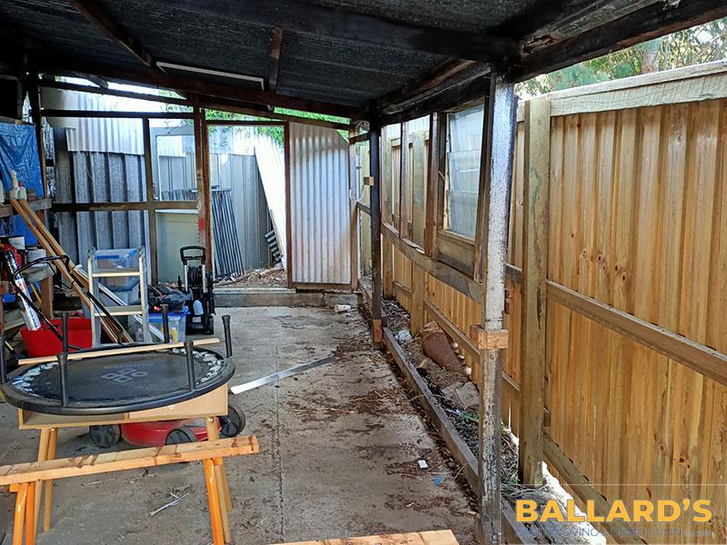 Tin Shed Before Demolition Bracken Ridge