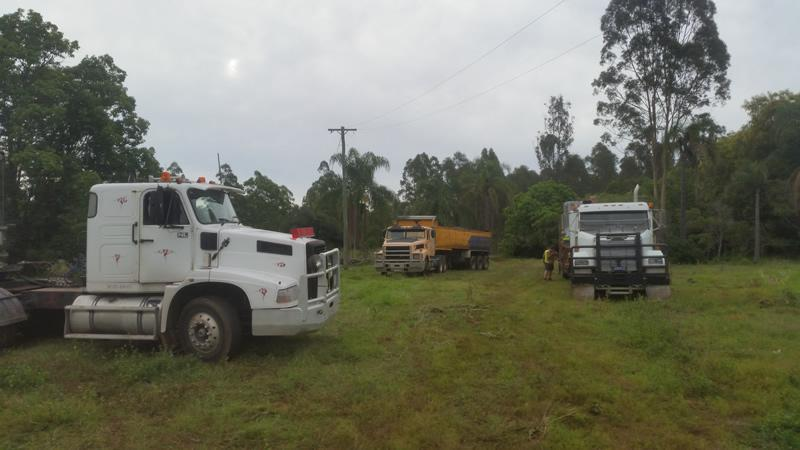 Trucks Rubbish Removal Brisbane Joyner